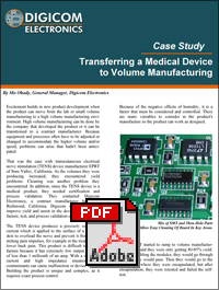 Download Transferring Medical Devices to Volume Manufacturing