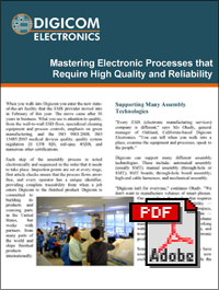 Download Electronic Processes that Require High Quality & Reliability